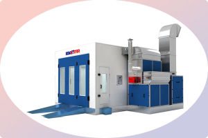 Paint Booth Systems Filter Spray Booth Manufacturer pictures & photos