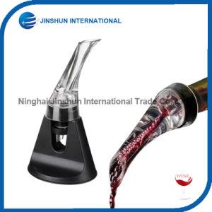 Premium Wine Aerator Pourer with Decanter Spout (Black) pictures & photos