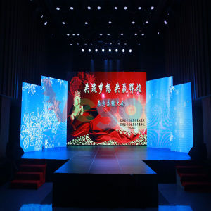 Indoor P4 High Resolution Video LED Display Screen pictures & photos