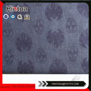 Kinds of Flower Printed Denim Fabric for Lady Garment Hotsale pictures & photos