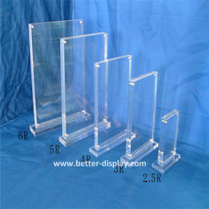 Clear Acrylic Plexiglss Double Sided Poster Frame A1 A2 A3 A4 pictures & photos