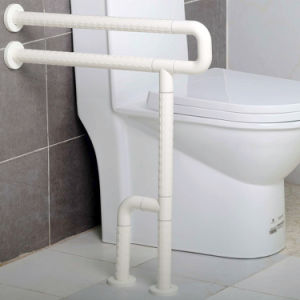 Nylon Stainless Steel U-Shape Grab Bars with Fixed Leg Support pictures & photos