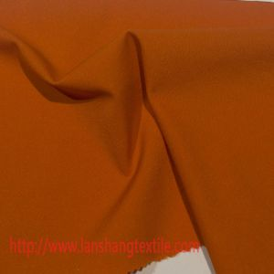 Twill Polyester Spandex Fabric for Coat Trousers Bottom Bag Shoes pictures & photos