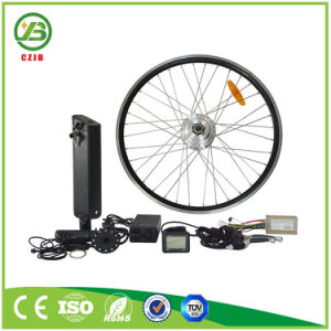 Czjb Front Electric Bicycle Wheel Motor Conversion Kit with Battery pictures & photos