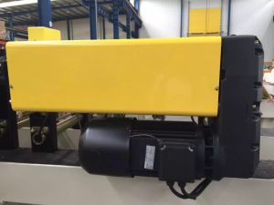 European Type Hoist Double Girder Wire Rope Hoist Electric Winch pictures & photos
