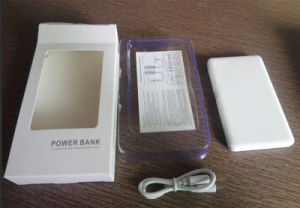 2017 Best Selling 4000mAh Portable Slim Card Power Bank Charger with Free Sample pictures & photos