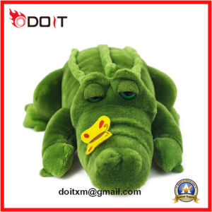 Stuffed Animal Crocodile Toy Plush Crocodile Toy with Butterfly pictures & photos