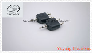 RCA Jack, for RCA Cable, for AV/TV BNC Cable 3.5mm/3.5 Mono Plug to 2xrca Plugs pictures & photos