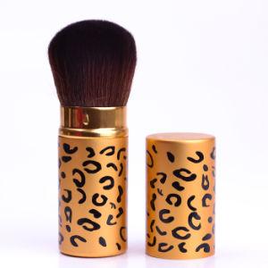Preminium Quality with Nylon Hair Private Label Retractable Cosmetics Makeup Brush pictures & photos