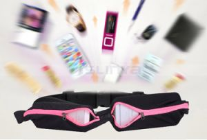 Multifunctional Men Women Elastic Sports Cash Key Pockets Fitness Running Riding Wrist Bag Anti-Theft Waterproof Mobile Phone Belt Pouch pictures & photos