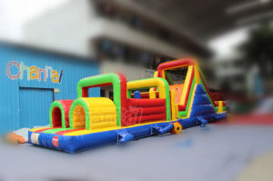 Multi Colors Inflatable Obstacle Course Interactive Games for Sale (chob208) pictures & photos
