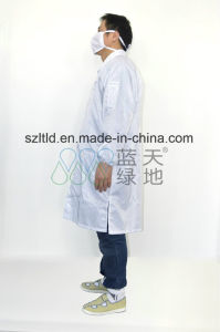 Antistatic Smock (turndown collar) (LTLD105-1) pictures & photos