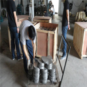 201 Grade 2b Finish Baosteel Cold Rolled Stainless Steel Circle Ddq Good Drawing Quality pictures & photos