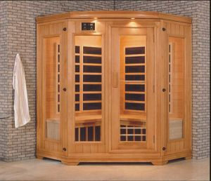 Solid Wood Infrared Sauna (AT-0929) pictures & photos