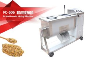 2017 FC-608 Powder and Particle Mixing Machine Fruit Vegetable Salad Mixer Meat Mixer pictures & photos