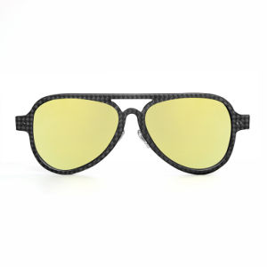 High Selling Different Lenses Polarized Carbon Fiber Sunglasses Engraving for Girls pictures & photos