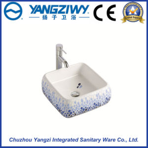 Ceramic Sanitary Ware Art Basin (YZ1307) pictures & photos