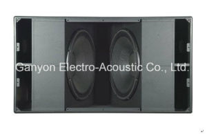 S8028 Dual 18 Inch Subwoofer. High Output Subwoofer pictures & photos