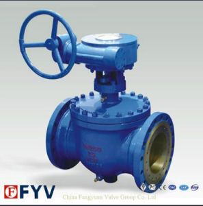 API 6D Wcb Top Entry Ball Valve with Gear pictures & photos