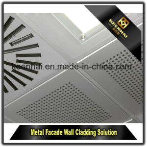 Laser Cut Aluminum Sheet Metal Facade Framed Wall Panel pictures & photos