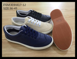 Latest Design Injection Shoes Running Shoes Casual Shoes Leather Shoes (XHH417-12) pictures & photos