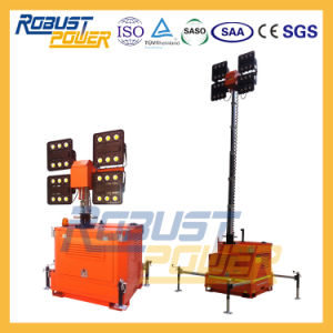4kw Generator Powered Portable Light Towers pictures & photos