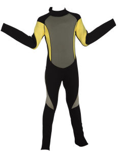 Women′s Long Sleeve Neoprene Wetsuit for Surfing (HX-L0225) pictures & photos