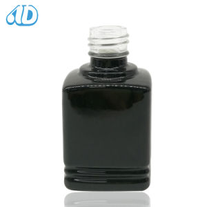 Cosmetic Black Nail Polish Glass Bottle 10ml pictures & photos