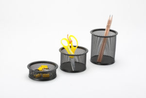Cheap Stationery/ Metal Mesh Stationery Pencil Holder/ Office Desk Accessories pictures & photos