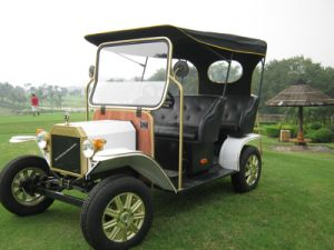 Unique Design Popular AC Motor 5kw Golf Classic Electric Buggy Vehicle pictures & photos