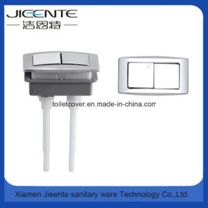 Dual Press Button for Toilet or Tank Plastic or Chromed pictures & photos