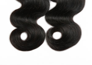 Brazilian Virgin Wavy Hair 100% Human Hair Weave Body Wave pictures & photos