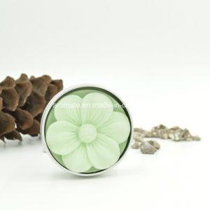 Aluminum Cased Flower Shaped Scented Oil Diffuser Ceramic (AM-155) pictures & photos