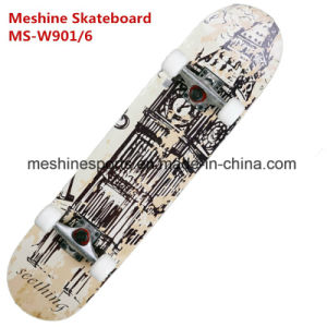 Maple Double Kick Tail Professional Skateboards Scooter Sports Ms-W901/6 pictures & photos