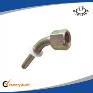 GB 45 Elbow Metric Female 74 Cone Seat Pipe Fittings pictures & photos
