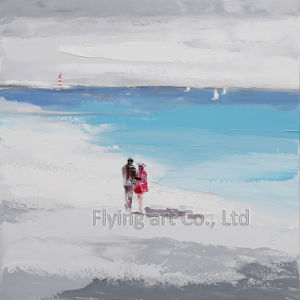 Seascape Art Painting with Sand Material pictures & photos