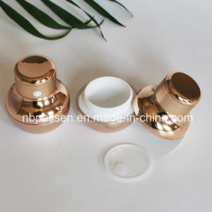 Luxury Electric Shake Massage Acrylic Cream Jar for Cosmetics (PPC-NEW-112) pictures & photos