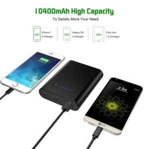 10400mAh USB-C Power Bank Portable Charger for iPhone MacBook pictures & photos