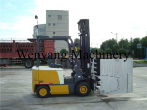 2ton Battery Forklift Electrical Forklift with Forklift Attachment Fridge Clamps pictures & photos
