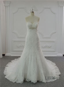 Sweetheart Wedding Dress 2017 Lace Plus Size Wedding Dress Mermaid pictures & photos