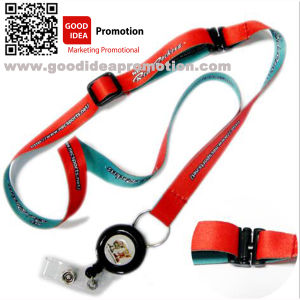 Promotional Lanyard with Mobile Strap pictures & photos
