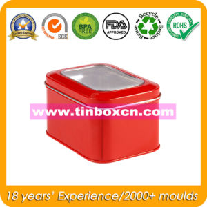 PVC Window Tin Box, Square Tin Box, Tin Can Packaging pictures & photos