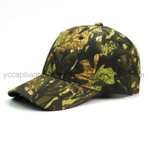 6 Panel Hunting Camo Baseball Cap pictures & photos