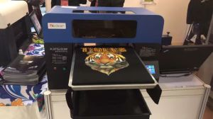 Digital Flatbed Direct to Garment Tshirt Printer pictures & photos