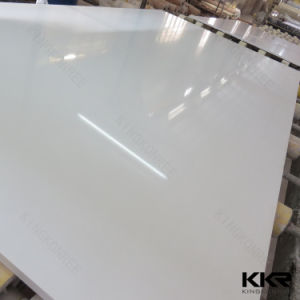 30mm Absolute White Polishing Crystal Quartz Stone Slab (Q170507) pictures & photos