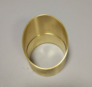 CNC Machined Brass Light Parts for LED Outdoor Light pictures & photos