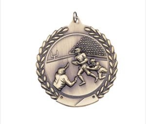 2′′ 3D Embossed Casting Rugby Football Sports Medals pictures & photos