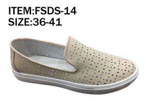 Latest Design Lady Leather Shoes Leisure Shoes (FSDS-6) pictures & photos