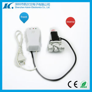 220V Wireless Gas Leakage Detector with 0.5′′ Solenoid Valve Kl-Qg08 pictures & photos