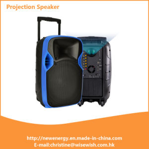 Made in China Gold Supplier Multimedia Karaoke LED Projection Speaker pictures & photos